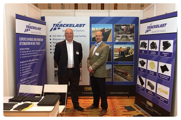 Peter and Tom at Rail Solutions Expo in Kuala Lumpur